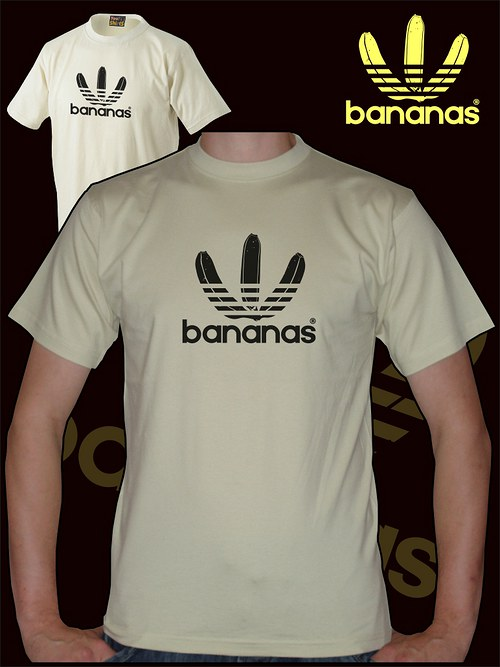 Pánské pískové tričko Bananas