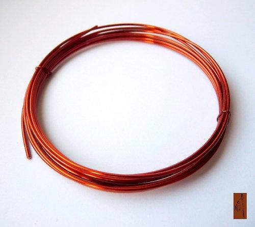 Lakovaný měděný drát 1,25 - 2 metry