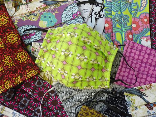 Rouška bavlněná-různé vzory,barvy...