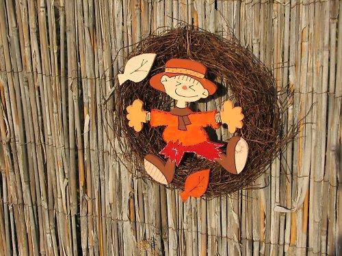 Veselý podzimní věneček