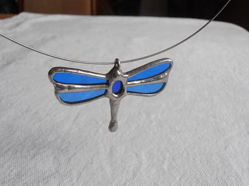 Malá vážka (náhrdelník)