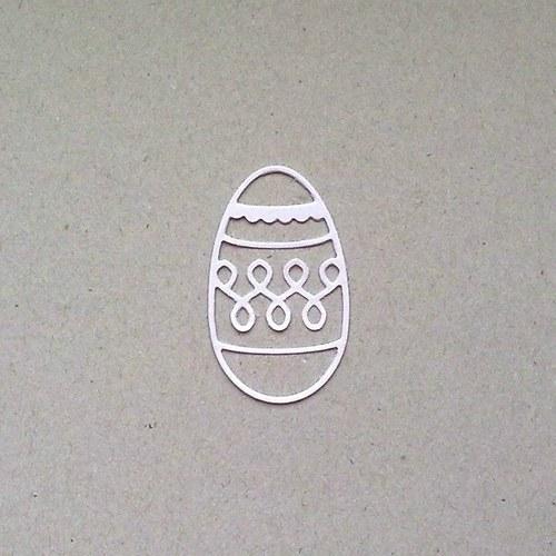 Výsek - Velikonoční kraslice - barva podle přání