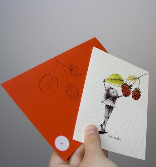 Přání - Ovocné MALINA 10.