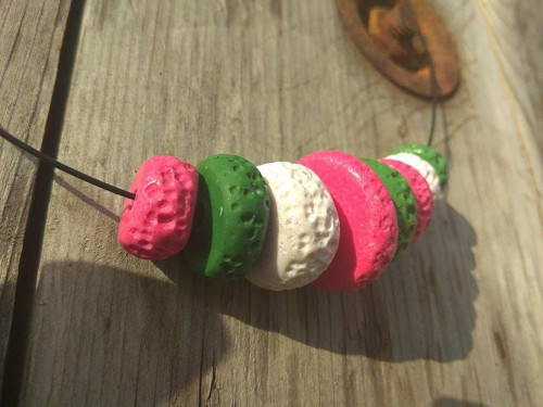 Náhrdelník donutkový č.2