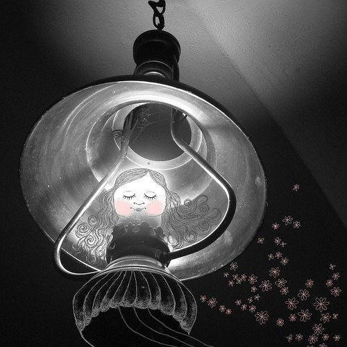 "\""panenka z lampy\"""