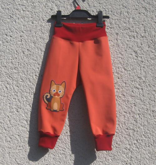 Soft. kalhoty zimní - vel. 92-98 rostoucí- skladem