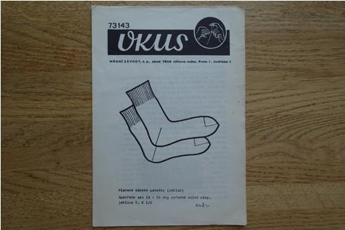 základní popis na ponožky