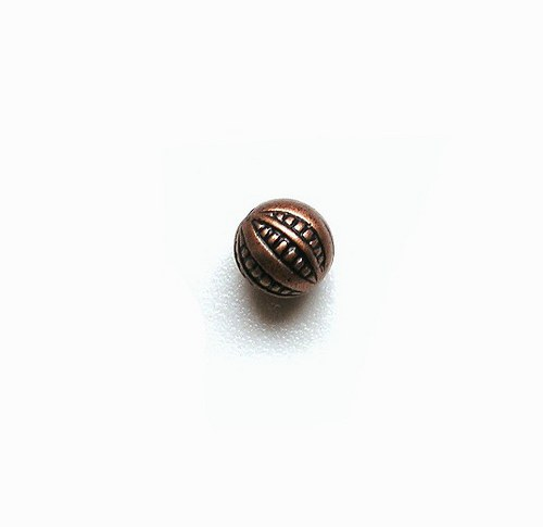 Korálek s pokovem, 10 mm - 1 kus