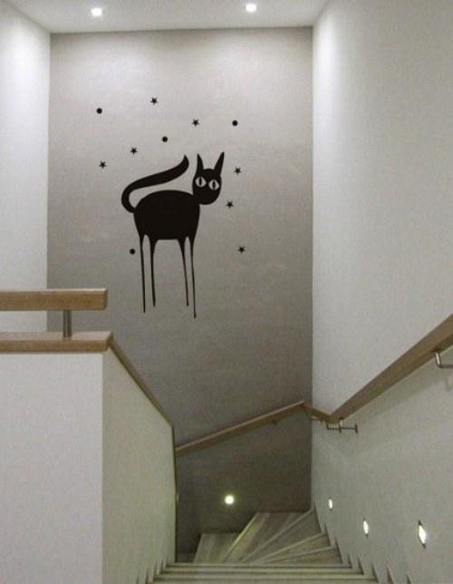 samolepka kočky 49x70cm