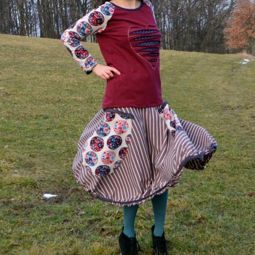 Folklorní - sukně