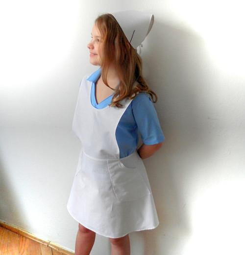 zdravotní sestřička-čepec