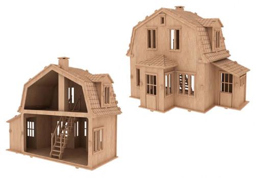Domeček pro panenky Dorothy Mary