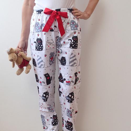 Veselé kalhoty na spaní