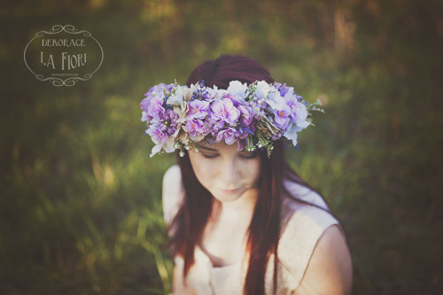 PRODÁNO_Věnec květinový