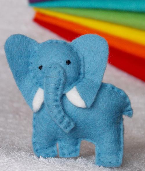 Slon - modrý