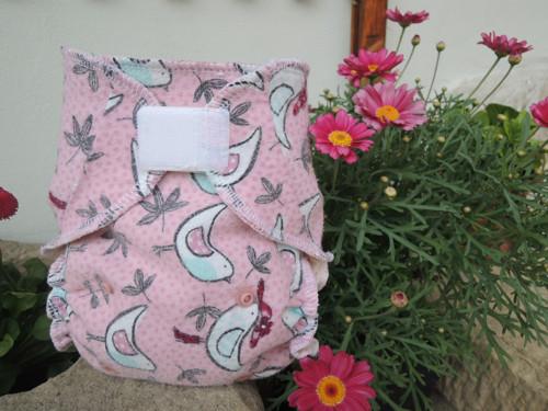 Plenka látkovka - RECY růžoví ptáčči