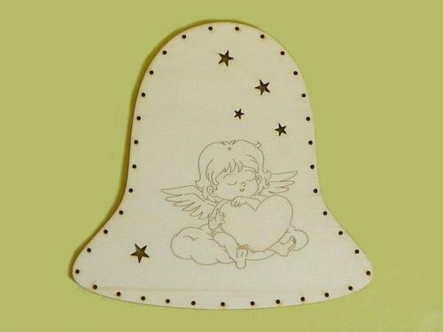 Dno zvonek - andělíček