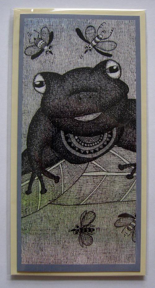 Přání - žába