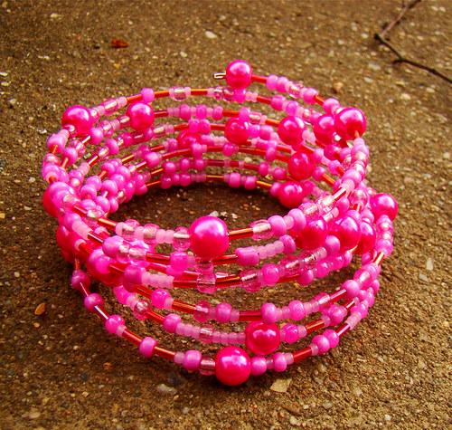 náramek pink