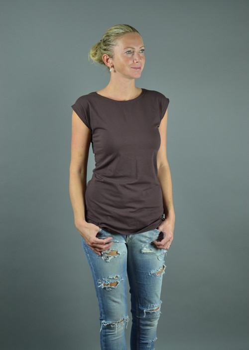 Hnědé tričko