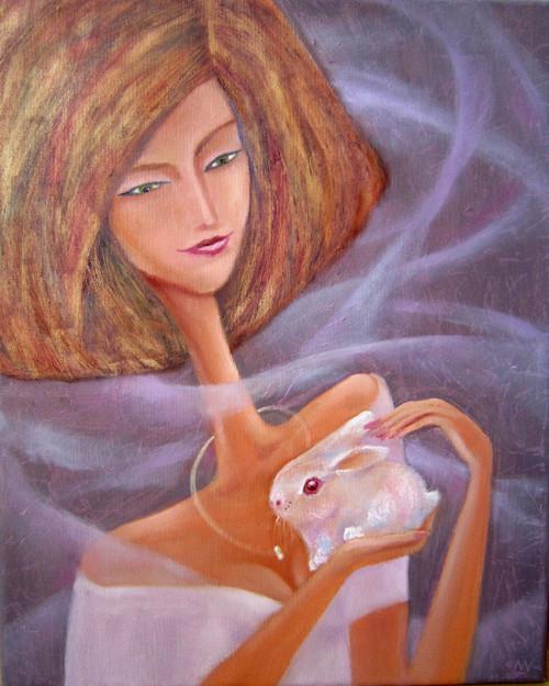 Dáma s králíkem