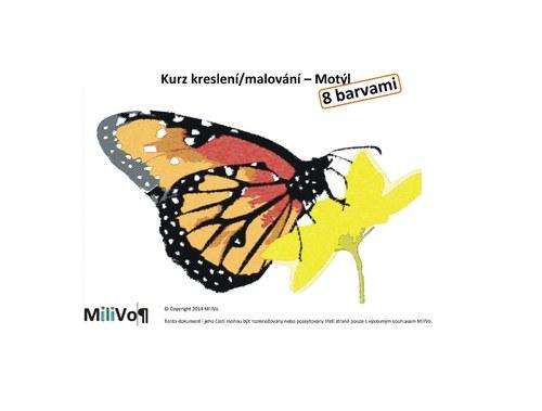 Kurz kreslení/malování - Motýl