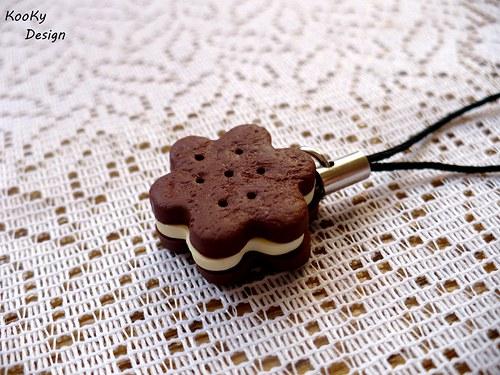 Přívěsek na mobil - sušenka
