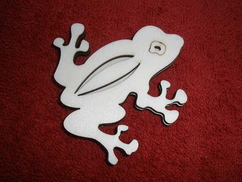 Razítko překližka žába - v. 7,3x7,3cm