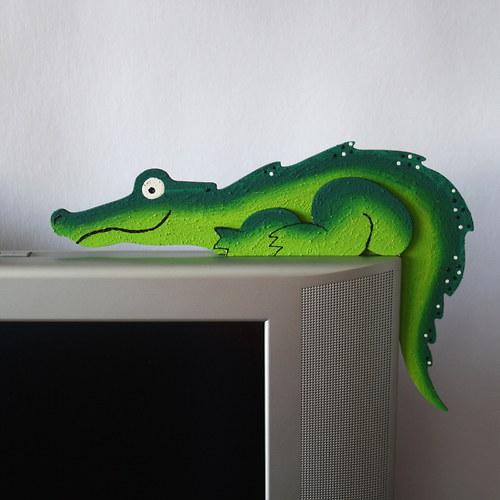 Krokodýl - hlídač dveří, pravý
