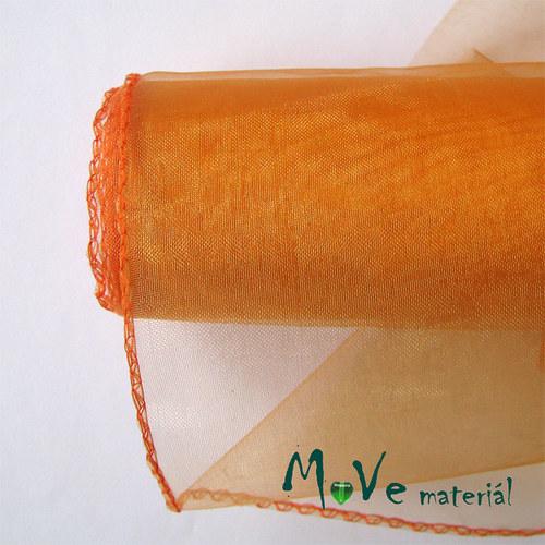 organza oranžová š. 21 cm/ 1m