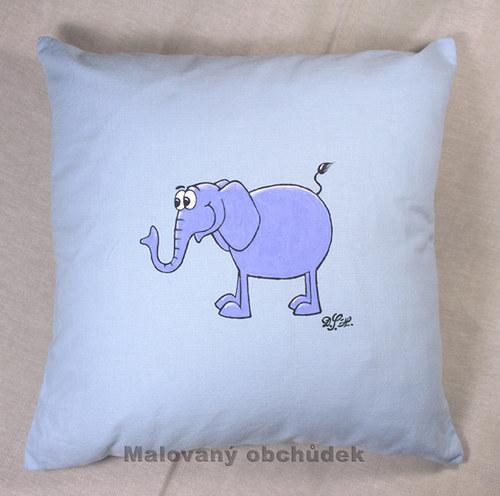 Polštář se slonem Gustavem