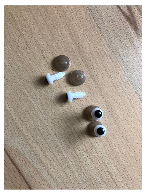 Bezpečnostní oči 8 mm (5 párů)