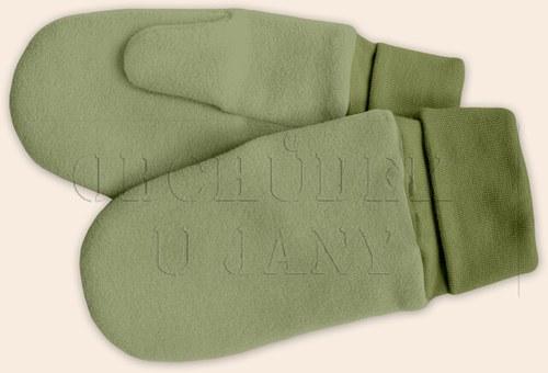 Rukavice palčáky zelené