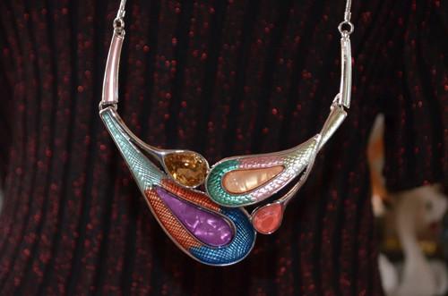 Překrásný náhrdelník barevný