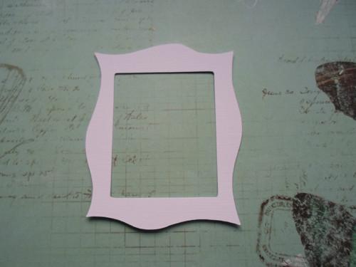 Ozdobný rámeček - barva na výběr