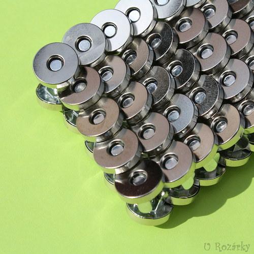 Zapínání - magnet 15 mm - cena za 2 ks!!