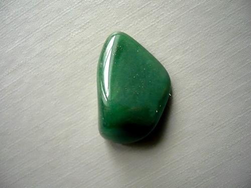 Troml. kámen – avanturín zelený 25 mm, č.21