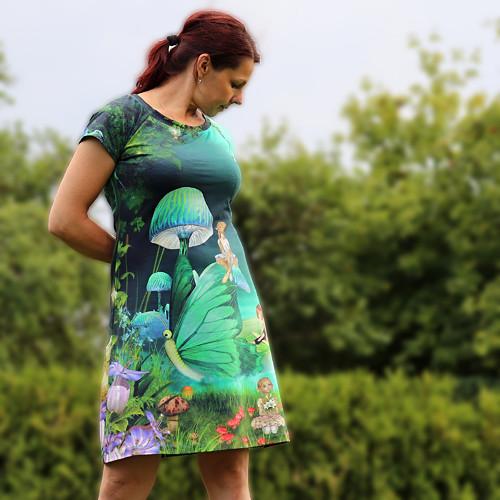 Šaty ... kouzelný les