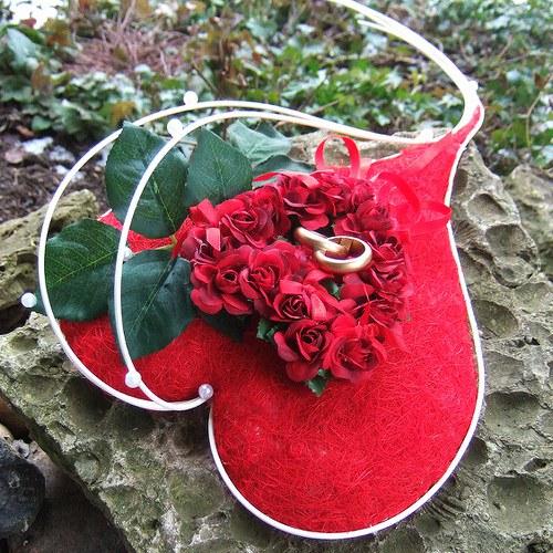Srdce-Červené růže