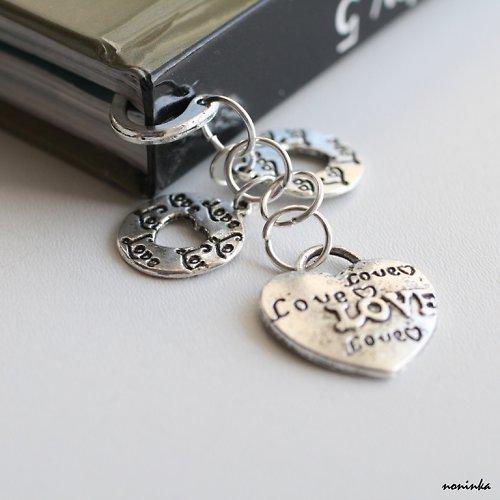 LOVE  -  záložka do knihy