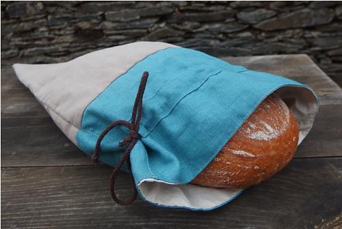 Lněný pytlík na pecen chleba *p u r e*