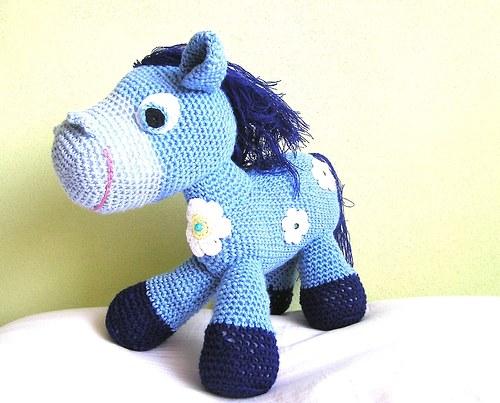 Blue horse :)