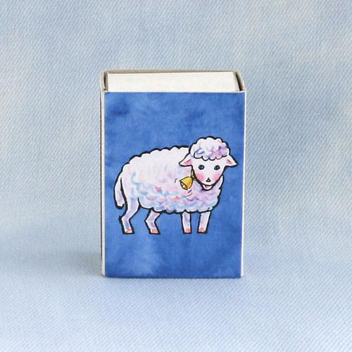 Obrázkové zapalky - ovečka