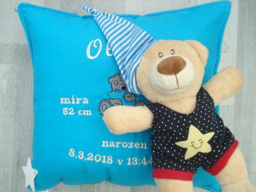 Originální dárek+medvídek*váš nápis