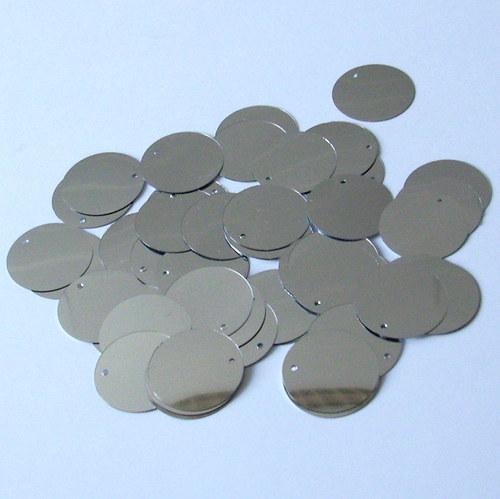 Flitr sypaný - stříbrný