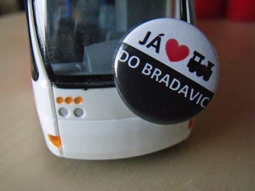 "Button \""Miluju vlak do Bradavic\"""