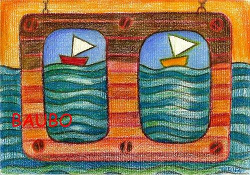 Loďky na vlnách súznenia