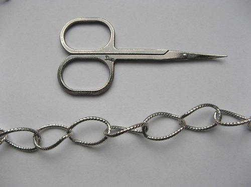 Řetízek c 20 - platina - 50 cm