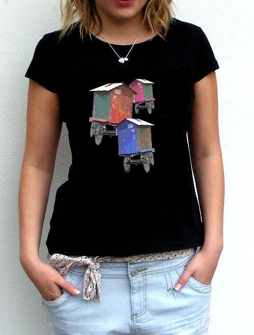 Originální dámské triko,,Tři,,