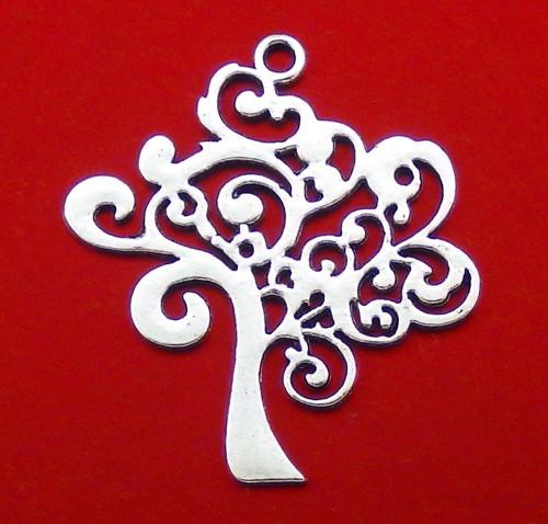 Velký starostříbrný přívěsek - strom života